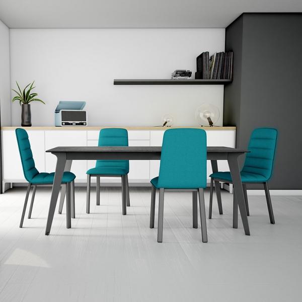 Table de salle à manger extensible en céramique Infiné - 1