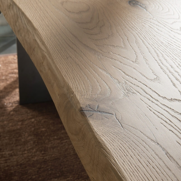 Table design italien en bois massif - 14.11 - 5