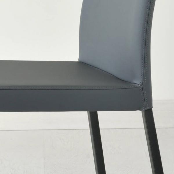 chaise en cuir fabrication italienne - 7