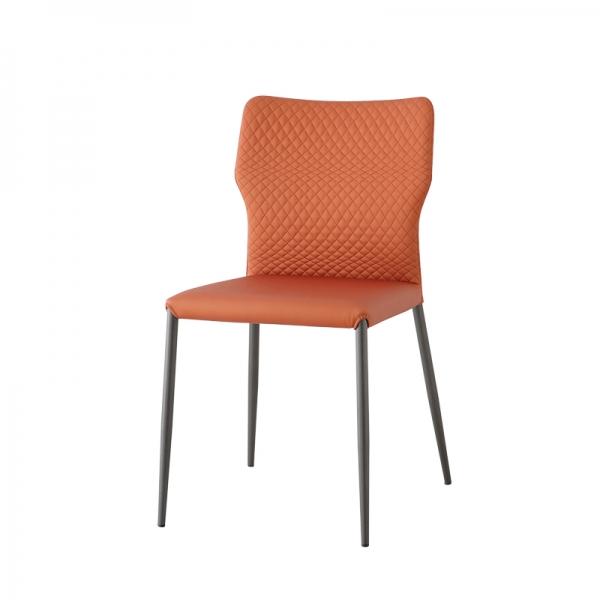chaise de salle à manger matelassée - Maryl - 2
