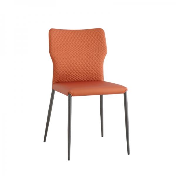 chaise matelassée design italien - Maryl - 1