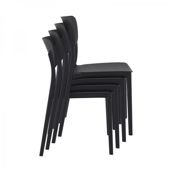 Chaises empilables de jardin - Lucy - 21