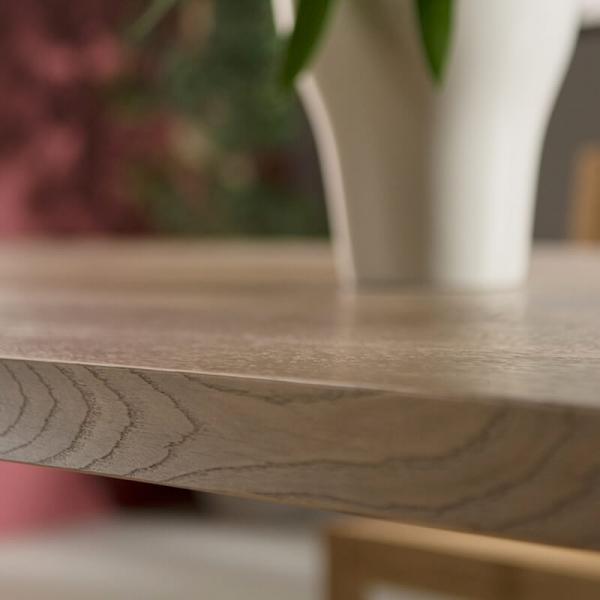 Table à manger moderne bois et métal - 14.04 - 8