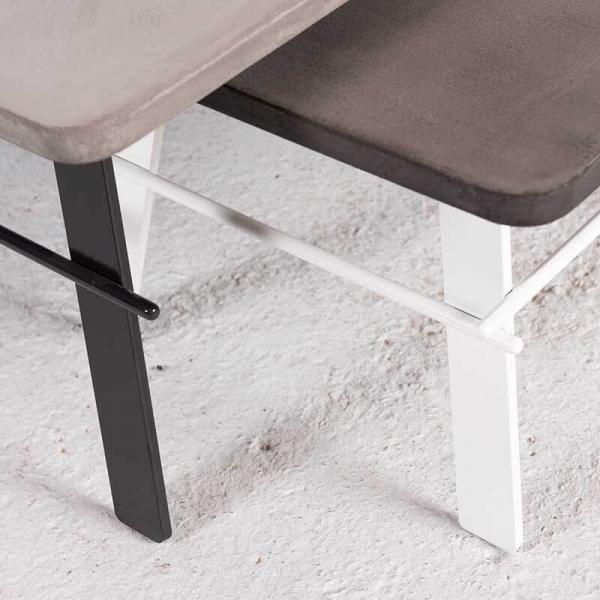 Table basse design en béton ciré fabrication française - Opale - 3