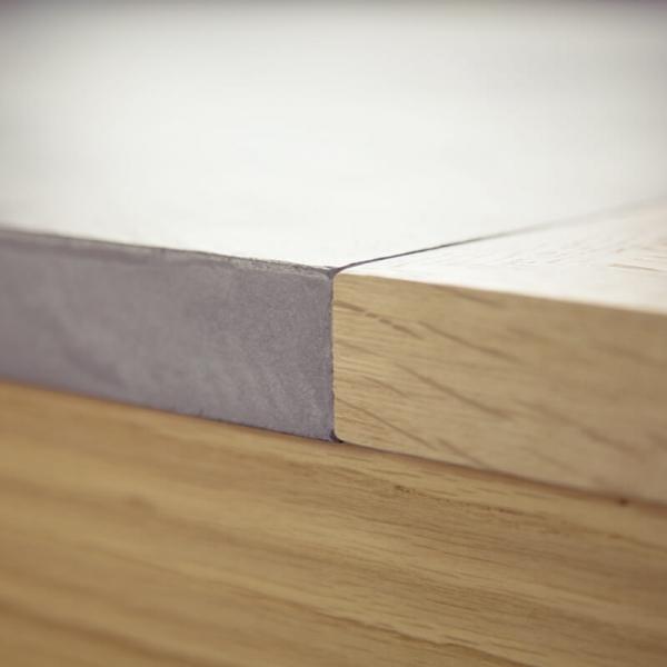 Table en béton ciré et bois massif - Repas - 9