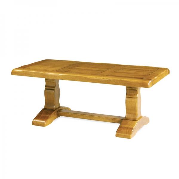Table de monastère rustique en bois extensible - Monastère - 4