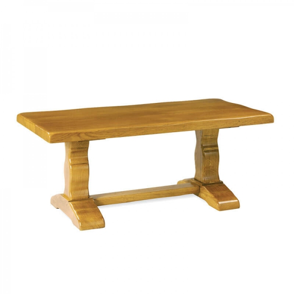 Table rustique en bois massif avec allonges - Monastère - 5