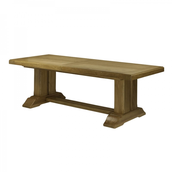 Table française en bois massif - Monastère - 12