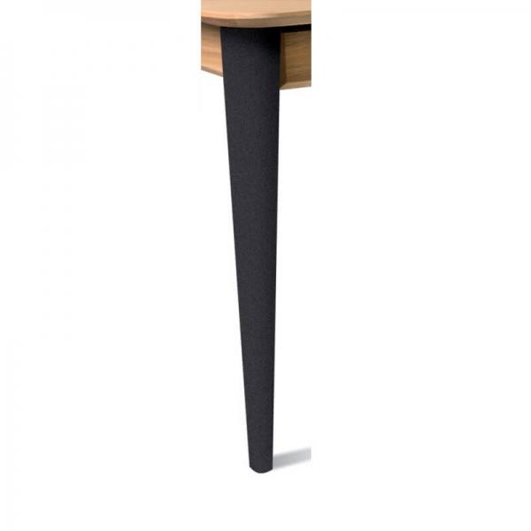 Pied de table en bois massif - Sixties - 7