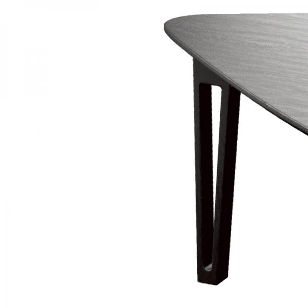 Table scandinave pied épingle - Perle - 5