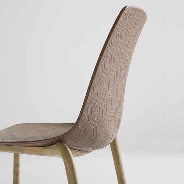 Chaise écologique design et empilable - Alhambra Eco - 4