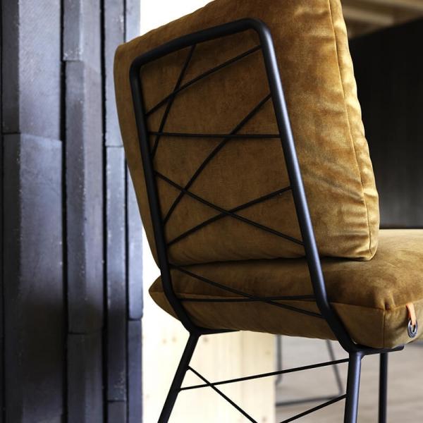 Chaise confortable avec structure en métal - Cosy Mobitec® - 13