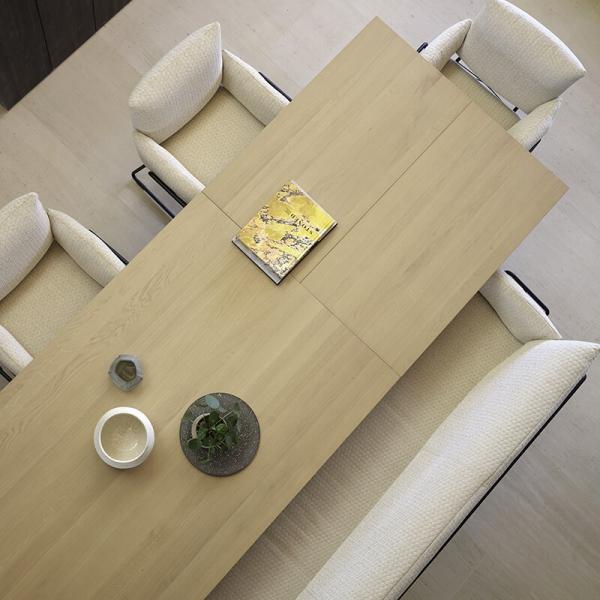 Fauteuil design confortable en tissu beige et pieds en métal noir - Cosy Mobitec® - 6