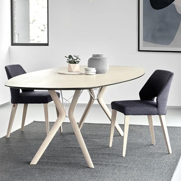 Chaise grise en tissu - Lena Mobitec® - 14