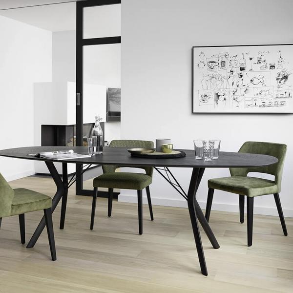 Chaise ajourée en tissu vert - Lena Mobitec® - 23