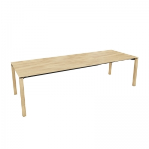 Table extensible en bois massif clair - Float Mobitec®
