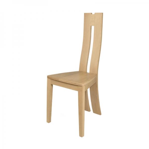Chaise fabrication française en chêne massif - Anis 1410 - 4