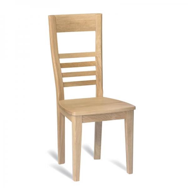 Chaise française en chêne massif - Safran - 6