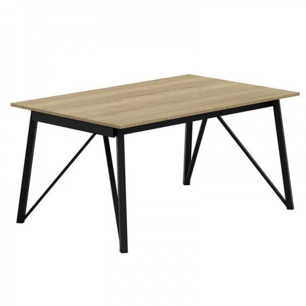 Table design rectangulaire fabrication belge - Wacko - 2