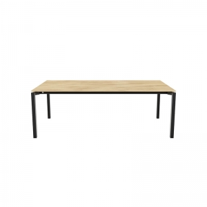 Table style industriel en bois massif - Float Mobitec®