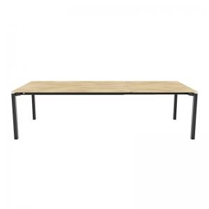Table extensible bois massif et pieds métal - Float