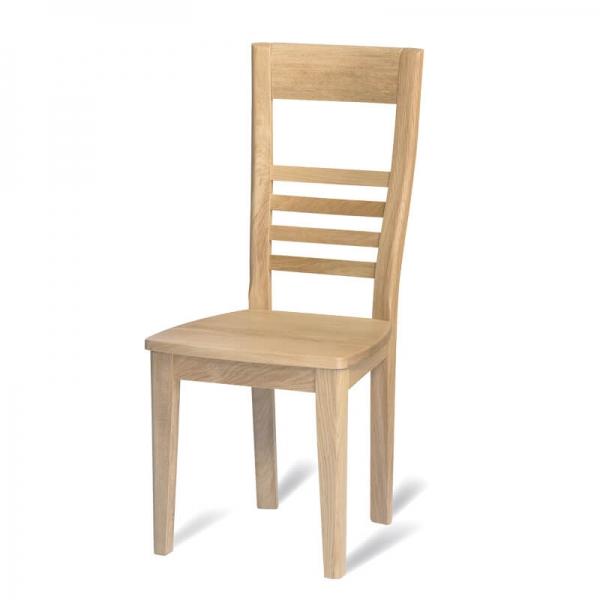 Chaise de salle à manger française en chêne massif - Safran 1110 - 4