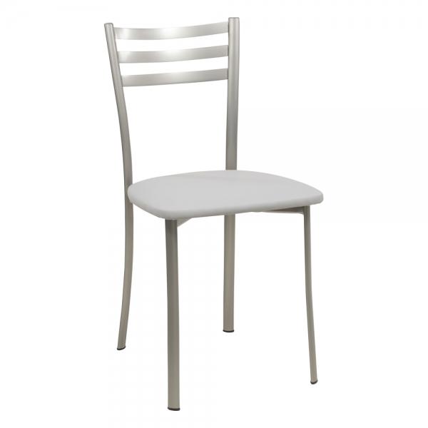 Chaise de cuisine grise en métal - Ace 1320 - 44