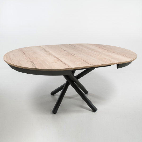 Table ronde italienne avec pied central mikado - Fahrenheit - 4