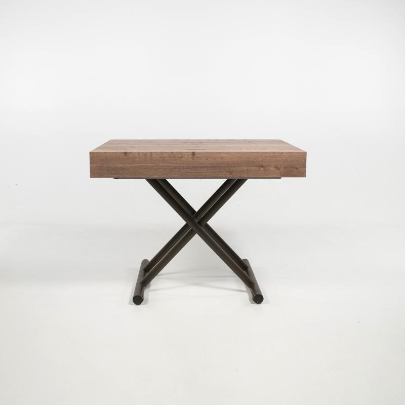 Table réglable en hauteur et extensible en mélaminé