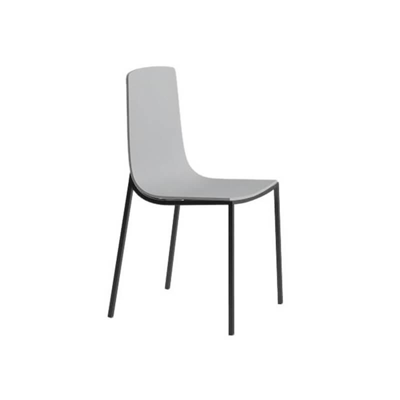 Chaise de cuisine moderne en métal et bois - Hot