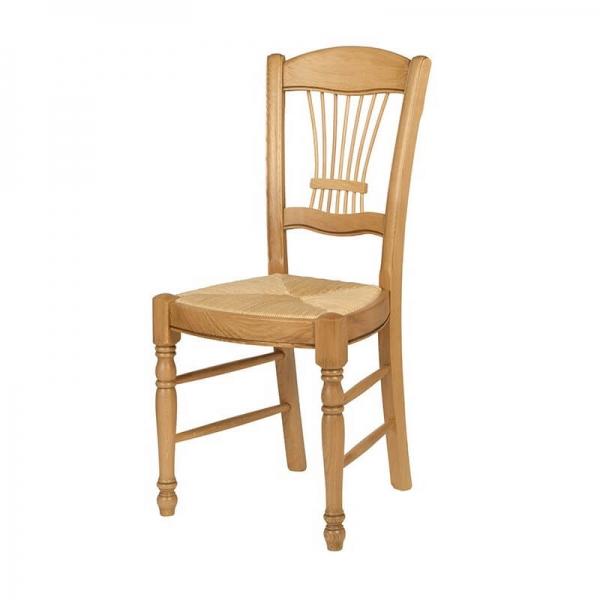 Chaise classique fabrication française en chêne massif - 280 - 4