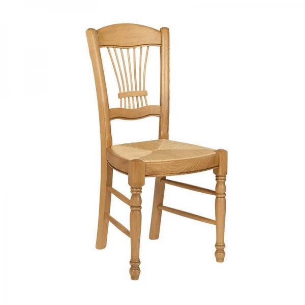 Chaise classique française en chêne massif - 280 - 3