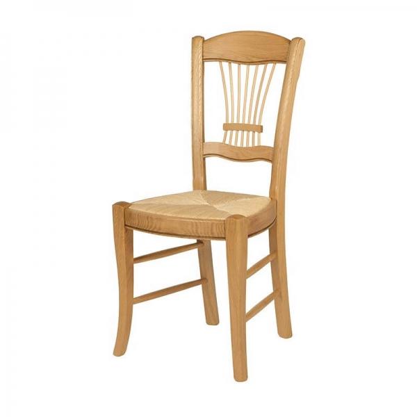 Chaise classique fabrication française en chêne massif - 283 - 2