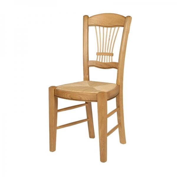 Chaise classique fabrication française en chêne massif - 285 - 6
