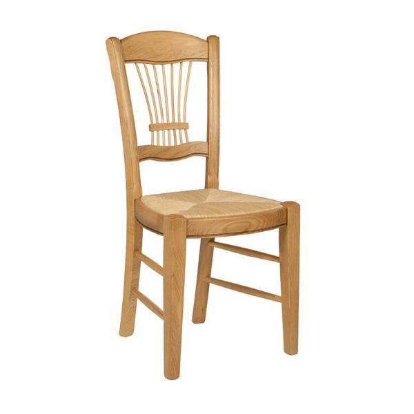 Chaise classique française en chêne massif - 285 - 5