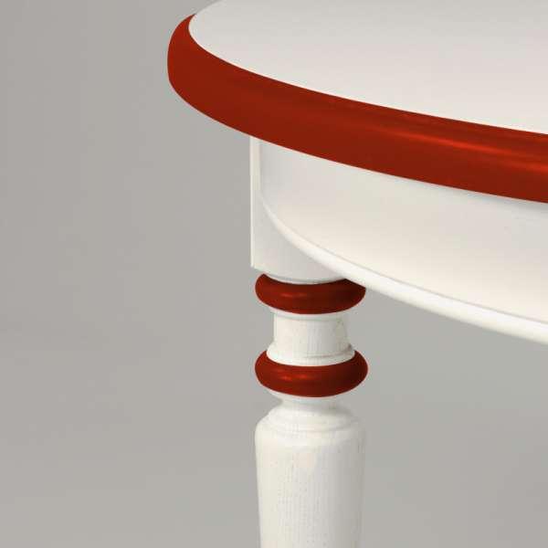 Table en chêne massif fabriquée en France - 4 Pieds - 14