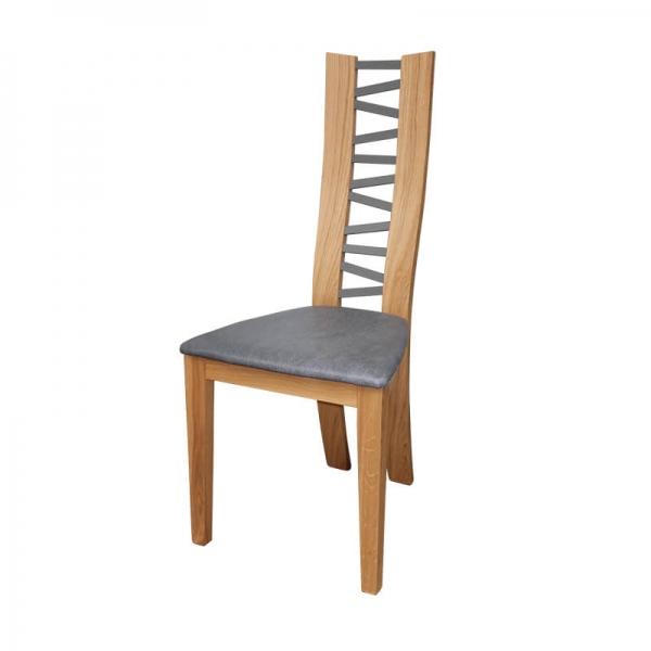 Chaise avec dossier à barreaux fabrication française - Anis 1440 - 2