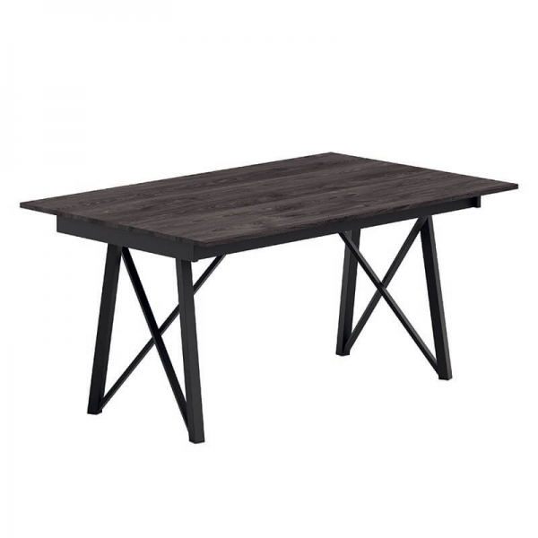 Table rectangulaire design avec pieds en métal - Wacko 2.0 - 2