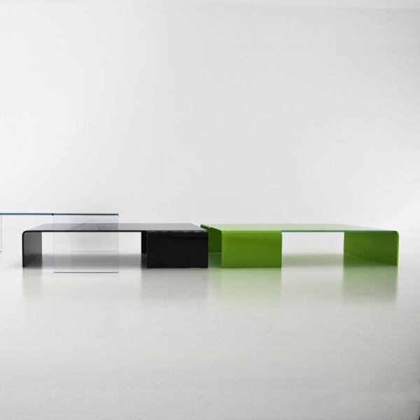 Table basse design rectangulaire en verre - Spider Sovet® 11 - 8