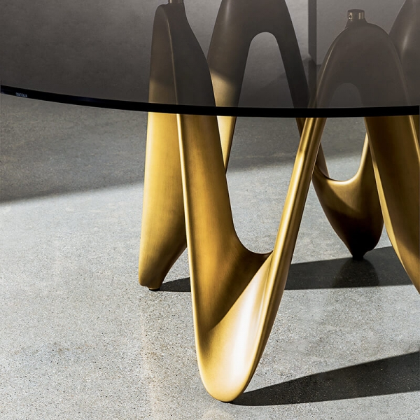 Table ronde design en verre - Lambda Sovet® 13 - 11