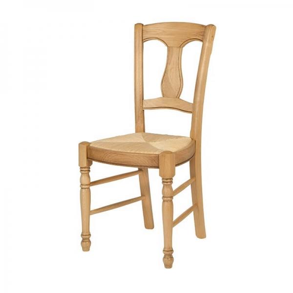 Chaise de salle à manger rustique - 260 - 7