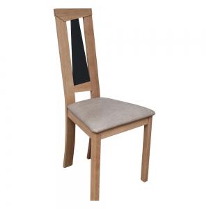 Chaise de salle à manger beige contemporaine fabrication française - Tower 1800L