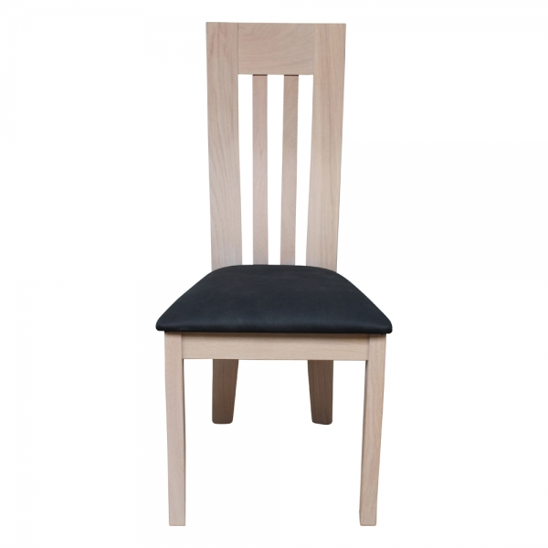 Chaise traditionnelle française en bois massif - Sésame 1620 - 3