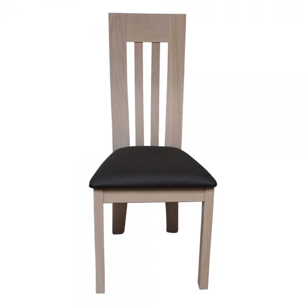 Chaise fabrication française en bois massif - Sésame 1620 - 5