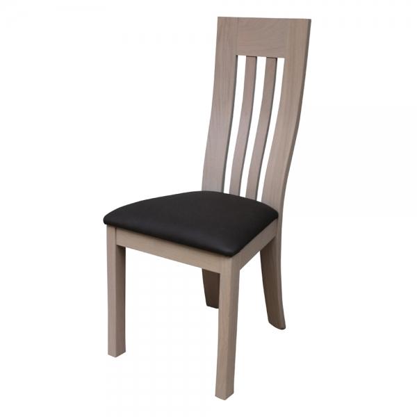 Chaise salle à manger de fabrication française en bois massif - Sésame 1620 - 7