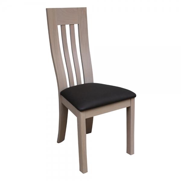 Chaise de séjour de fabrication française en bois massif - Sésame 1620 - 8