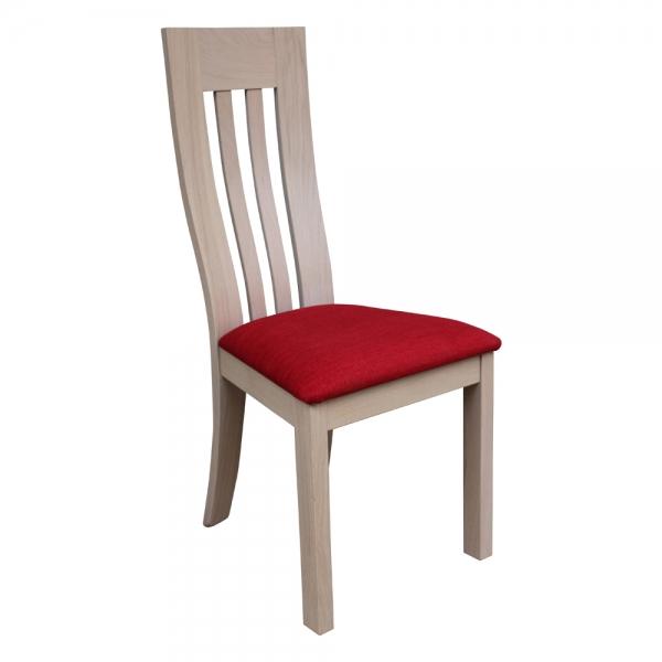 Chaise bois et tissu fabrication française - Sésame 1620 - 1
