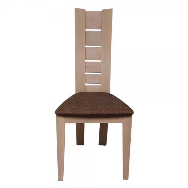 Chaise de salle à manger rembourrée structure en bois massif - Anis 1450 - 3