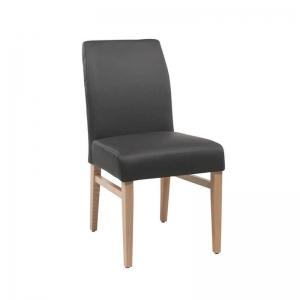 Chaise matelassée dans le dos style contemporain - Fritz 4