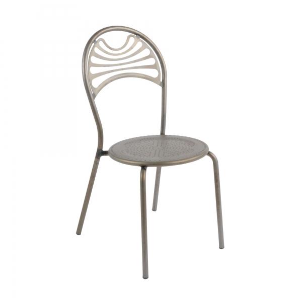 Chaise de jardin contemporaine en métal - Cabaret 25 - 25